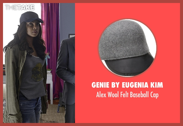 Genie by Eugenia Kim gray cap from Quantico seen with Alex Parrish (Priyanka Chopra)