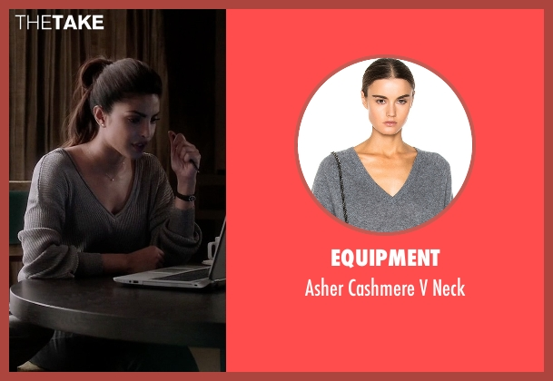 Equipment gray neck from Quantico seen with Alex Parrish (Priyanka Chopra)