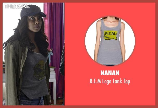 Nanan gray top from Quantico seen with Alex Parrish (Priyanka Chopra)