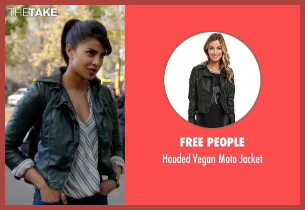 Free People green jacket from Quantico seen with Alex Parrish (Priyanka Chopra)