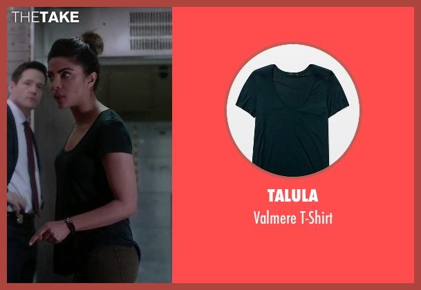 Talula green t-shirt from Quantico seen with Alex Parrish (Priyanka Chopra)