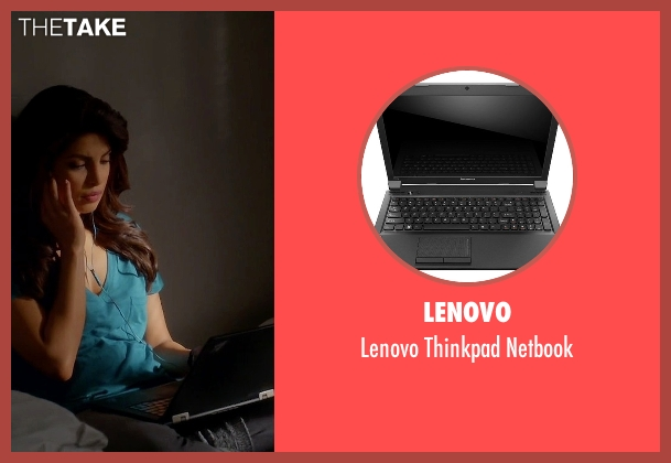 Lenovo netbook from Quantico seen with Alex Parrish (Priyanka Chopra)