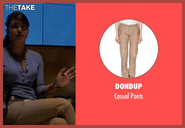 Dondup pants from Quantico seen with Alex Parrish (Priyanka Chopra)