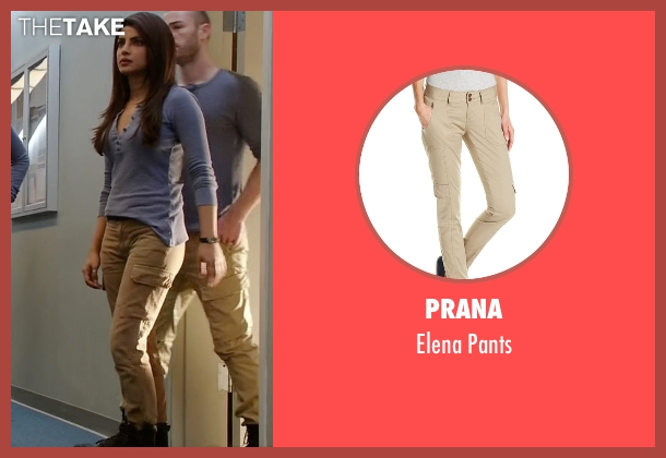 Prana pants from Quantico seen with Alex Parrish (Priyanka Chopra)