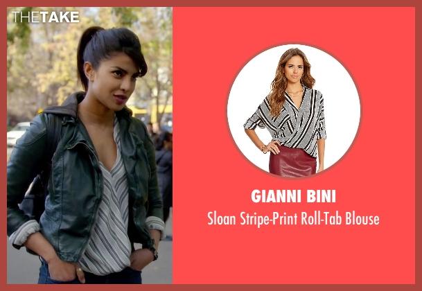 Gianni Bini white blouse from Quantico seen with Alex Parrish (Priyanka Chopra)
