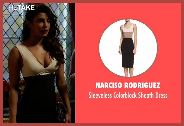Narciso Rodriguez white dress from Quantico seen with Alex Parrish (Priyanka Chopra)
