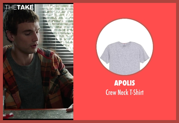 Apolis gray t-shirt from Chronicle seen with Alex Russell (Matt Garetty)