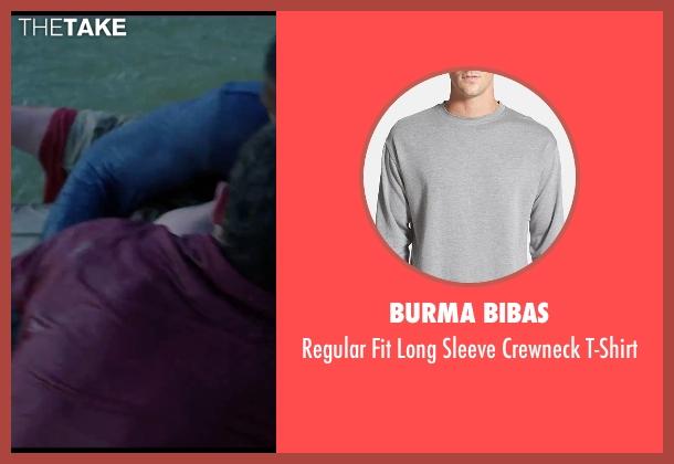 Burma Bibas gray t-shirt from Chronicle seen with Alex Russell (Matt Garetty)