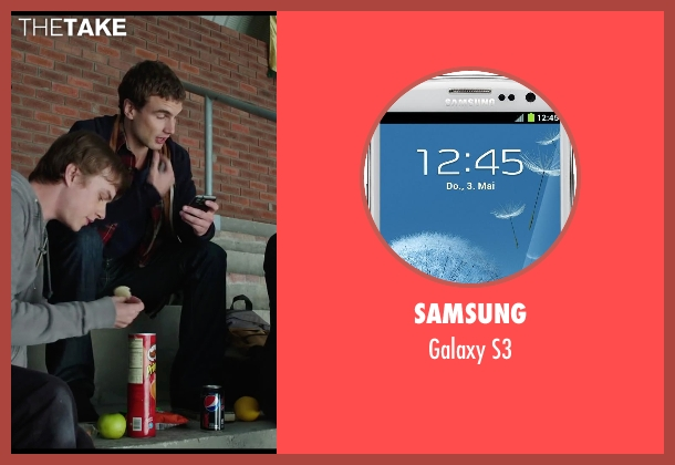Samsung s3 from Chronicle seen with Alex Russell (Matt Garetty)