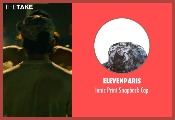 Elevenparis black cap from We Are Your Friends seen with Alex Shaffer (Squirrel)