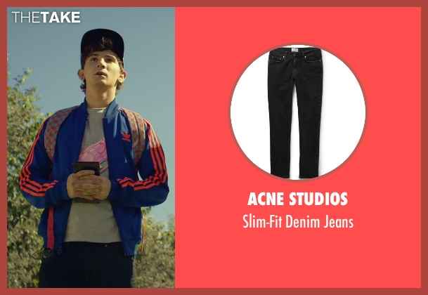 Acne Studios black jeans from We Are Your Friends seen with Alex Shaffer (Squirrel)