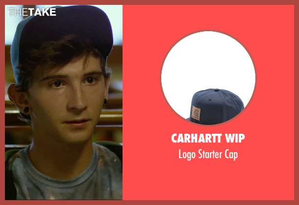 Carhartt Wip blue cap from We Are Your Friends seen with Alex Shaffer (Squirrel)
