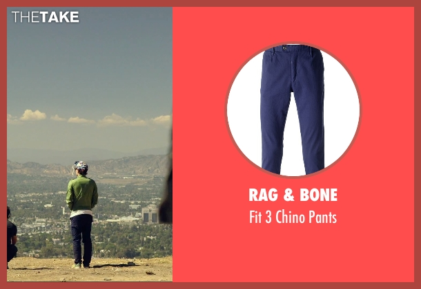 Rag & Bone blue pants from We Are Your Friends seen with Alex Shaffer (Squirrel)