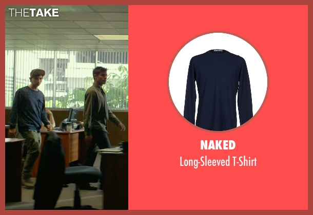 Naked blue t-shirt from We Are Your Friends seen with Alex Shaffer (Squirrel)