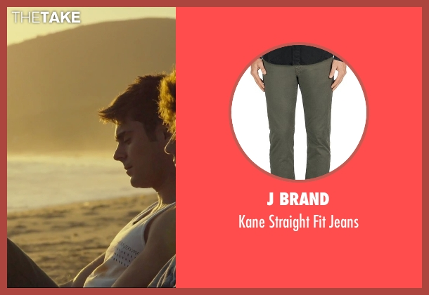 J Brand gray jeans from We Are Your Friends seen with Alex Shaffer (Squirrel)