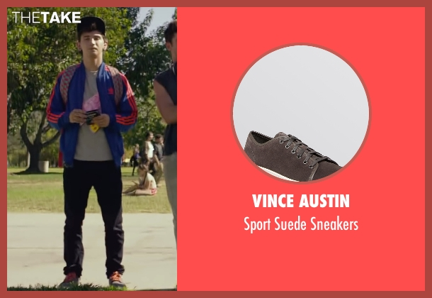 Vince Austin gray sneakers from We Are Your Friends seen with Alex Shaffer (Squirrel)