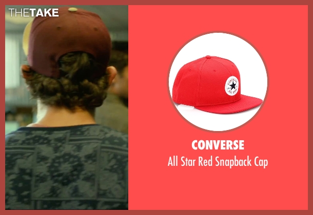 Converse red cap from We Are Your Friends seen with Alex Shaffer (Squirrel)
