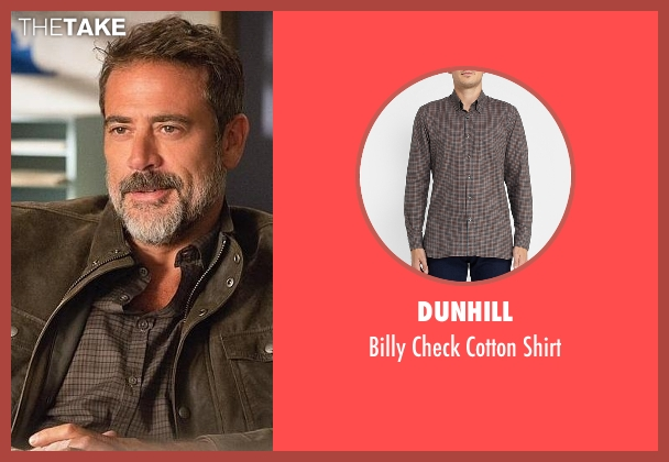 Dunhill brown shirt from The Good Wife seen with Alex (Jeffrey Dean Morgan)