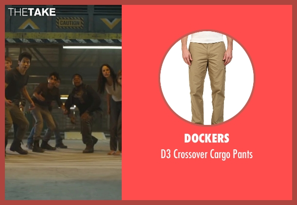 Dockers pants from Maze Runner: The Scorch Trials seen with Alexander Flores (Winston)