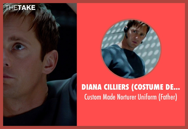 Diana Cilliers (Costume Designer) uniform from The Giver seen with Alexander Skarsgård (Father)