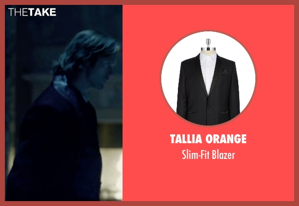 Tallia Orange black blazer from The Legend of Tarzan seen with Alexander Skarsgård (Tarzan)
