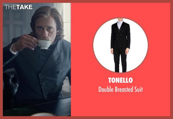 Tonello black suit from The Legend of Tarzan seen with Alexander Skarsgård (Tarzan)