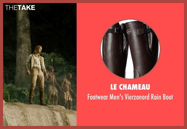 Le Chameau brown boot from The Legend of Tarzan seen with Alexander Skarsgård (Tarzan)