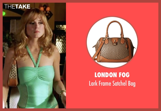 London Fog brown bag from She's The Man seen with Alexandra Breckinridge (Monique)