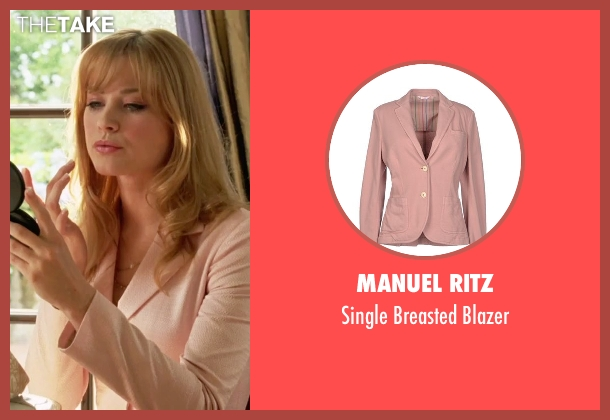 Manuel Ritz pink blazer from She's The Man seen with Alexandra Breckinridge (Monique)