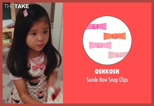 Oshkosh pink clips from Sex and the City 2 seen with Alexandra Fong (Lily)