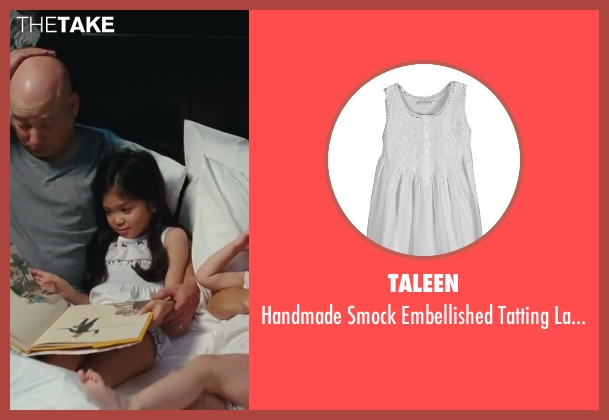Taleen white nightgown from Sex and the City 2 seen with Alexandra Fong (Lily)
