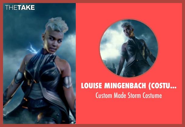 Louise Mingenbach (Costume Designer) costume from X-Men: Apocalypse seen with Alexandra Shipp (Ororo Munroe / Storm)