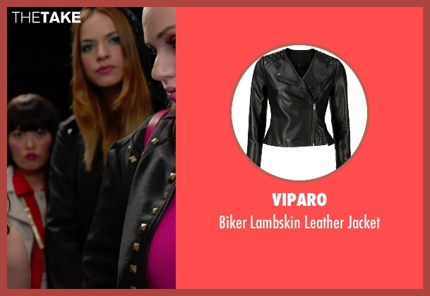 Viparo black jacket from Pitch Perfect 2 seen with No Actor (Stacie)