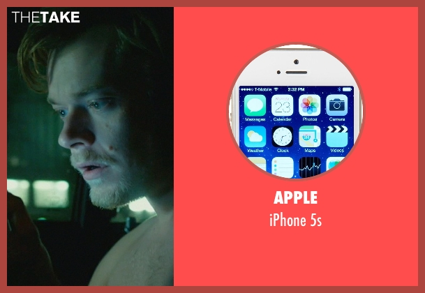 Apple 5s from John Wick seen with Alfie Allen (Iosef Tarasov)