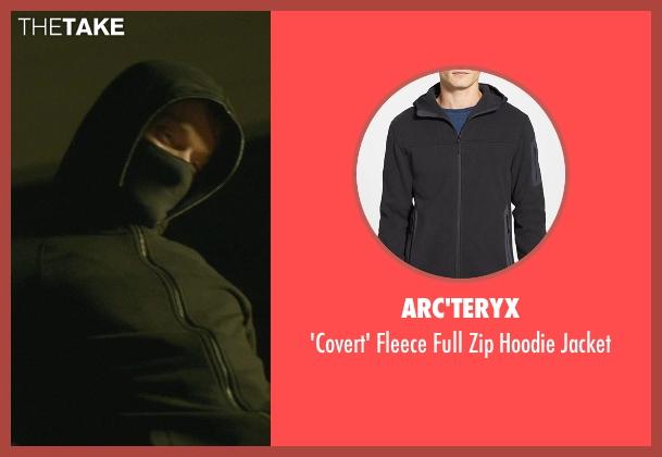 Arc'teryx black jacket from John Wick seen with Alfie Allen (Iosef Tarasov)