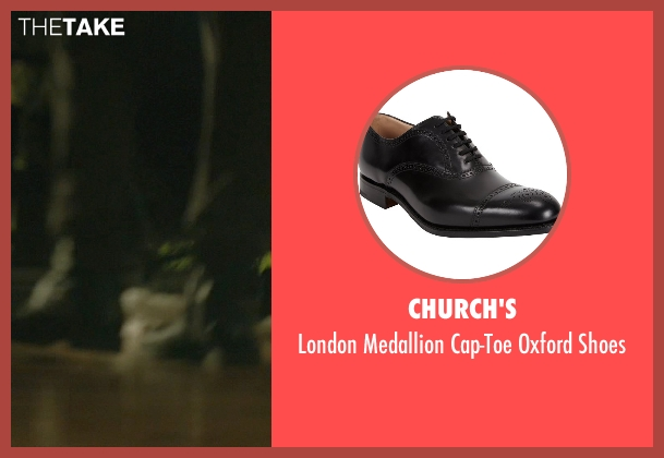 Church's black shoes from John Wick seen with Alfie Allen (Iosef Tarasov)