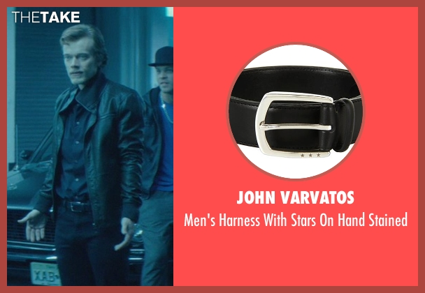 John Varvatos black stained from John Wick seen with Alfie Allen (Iosef Tarasov)