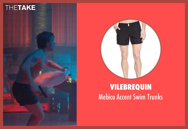 Vilebrequin black trunks from John Wick seen with Alfie Allen (Iosef Tarasov)