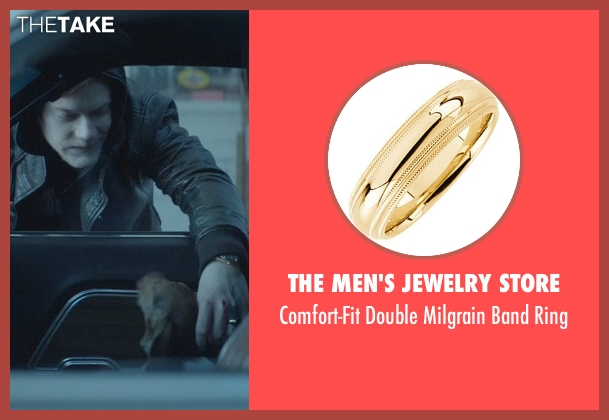 The Men's Jewelry Store gold ring from John Wick seen with Alfie Allen (Iosef Tarasov)