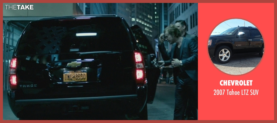 Chevrolet suv from John Wick seen with Alfie Allen (Iosef Tarasov)