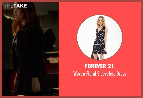Forever 21 black dress from If I Stay seen with Ali Milner (Liz)