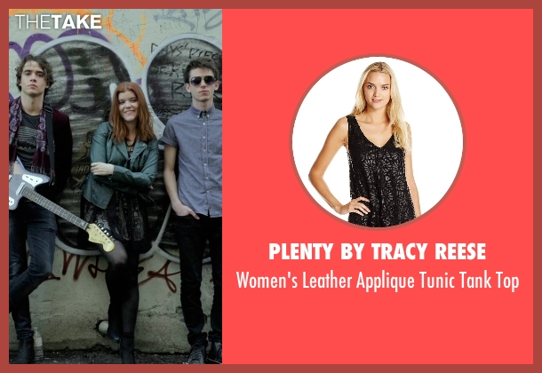 Plenty by Tracy Reese black top from If I Stay seen with Ali Milner (Liz)
