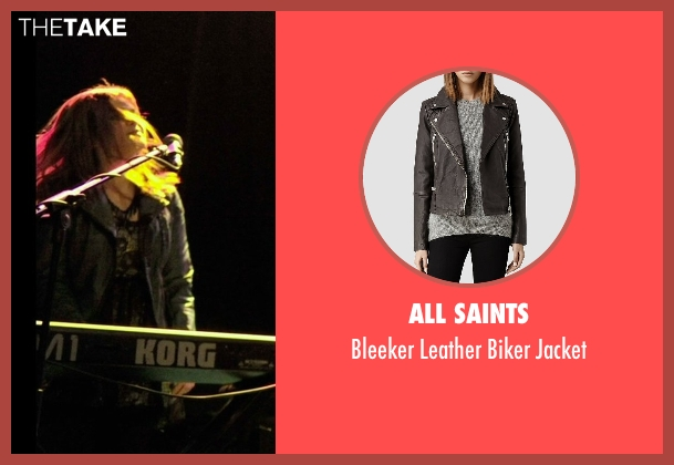 All Saints gray jacket from If I Stay seen with Ali Milner (Liz)