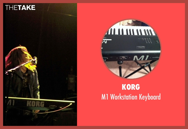Korg keyboard from If I Stay seen with Ali Milner (Liz)