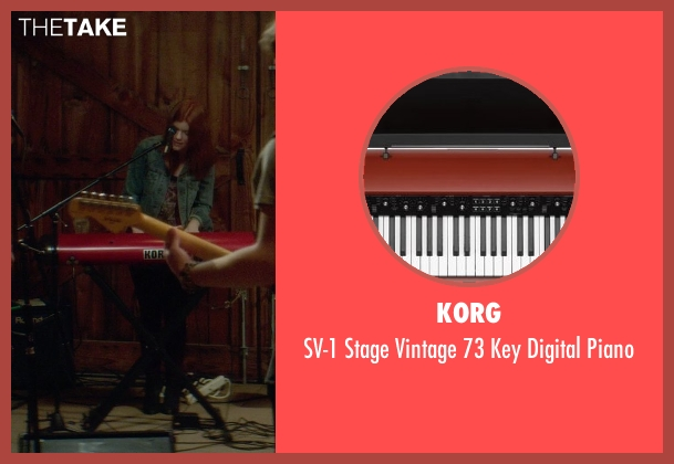 Korg piano from If I Stay seen with Ali Milner (Liz)