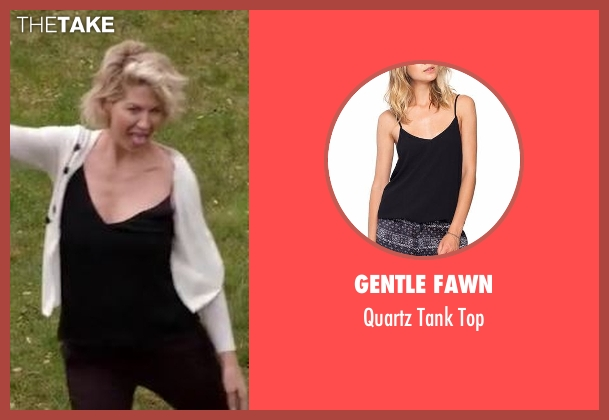 Gentle Fawn black top from Imaginary Mary seen with Alice (Jenna Elfman)