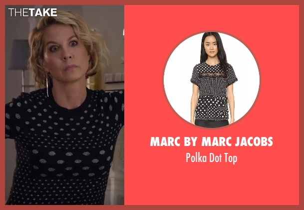 Marc by Marc Jacobs  black top from Imaginary Mary seen with Alice (Jenna Elfman)