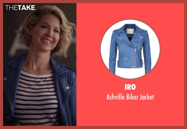 IRO  blue jacket from Imaginary Mary seen with Alice (Jenna Elfman)