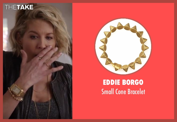 Eddie Borgo  gold bracelet from Imaginary Mary seen with Alice (Jenna Elfman)