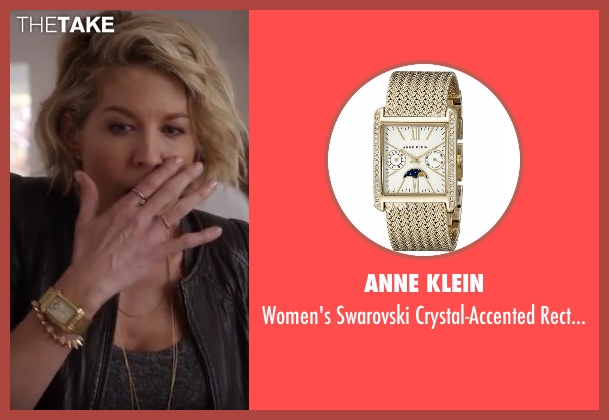 Anne Klein gold watch from Imaginary Mary seen with Alice (Jenna Elfman)